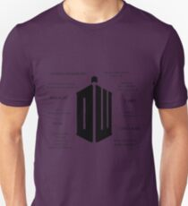 Doctor Who Quotes Unisex T-Shirt