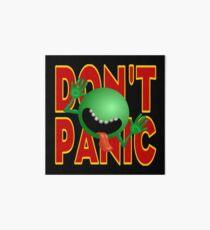 DON'T PANIC Art Board