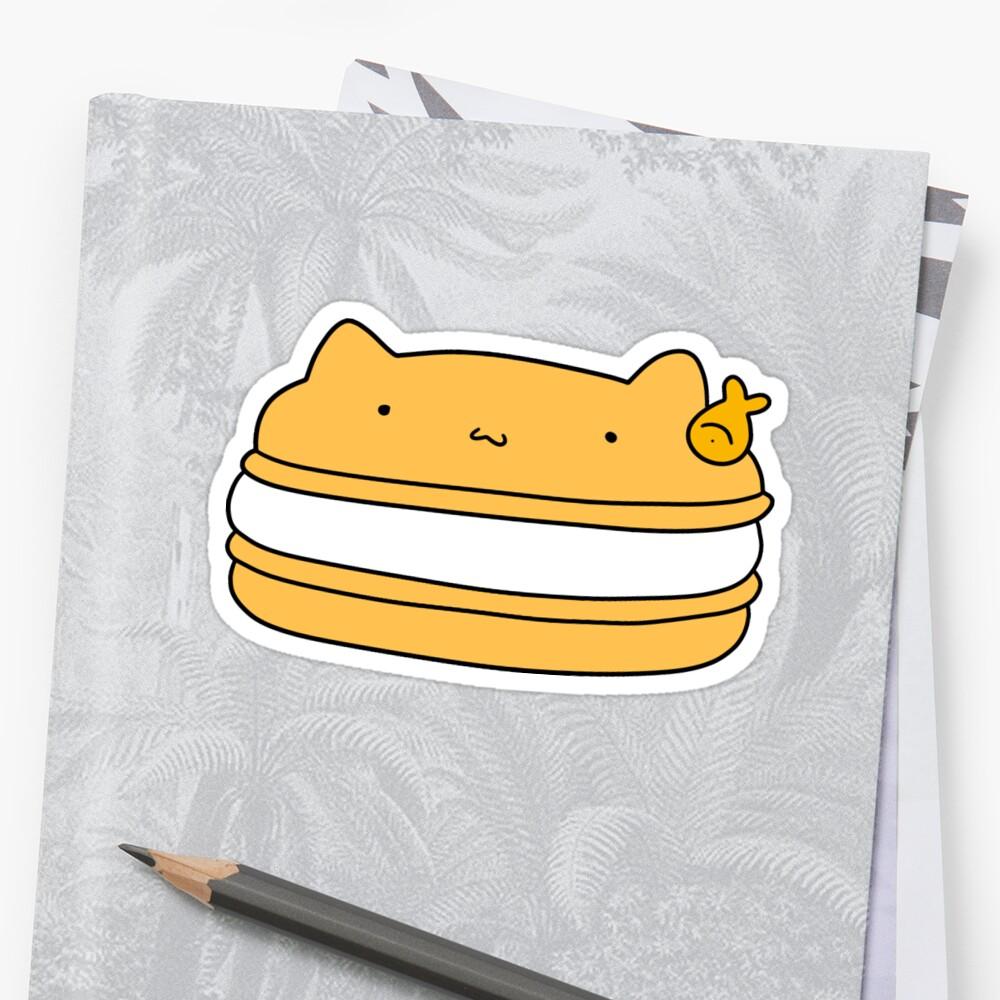 Cat Macaroon by SaradaBoru