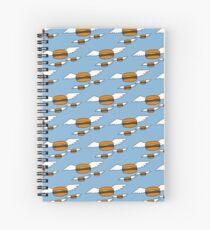 Heavenly Burgers Spiral Notebook