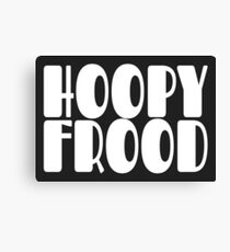 Hoopy Frood Canvas Print