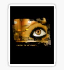 eye lights Sticker