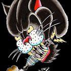 Sparky the Panther - Art By Kev G by ArtByKevG