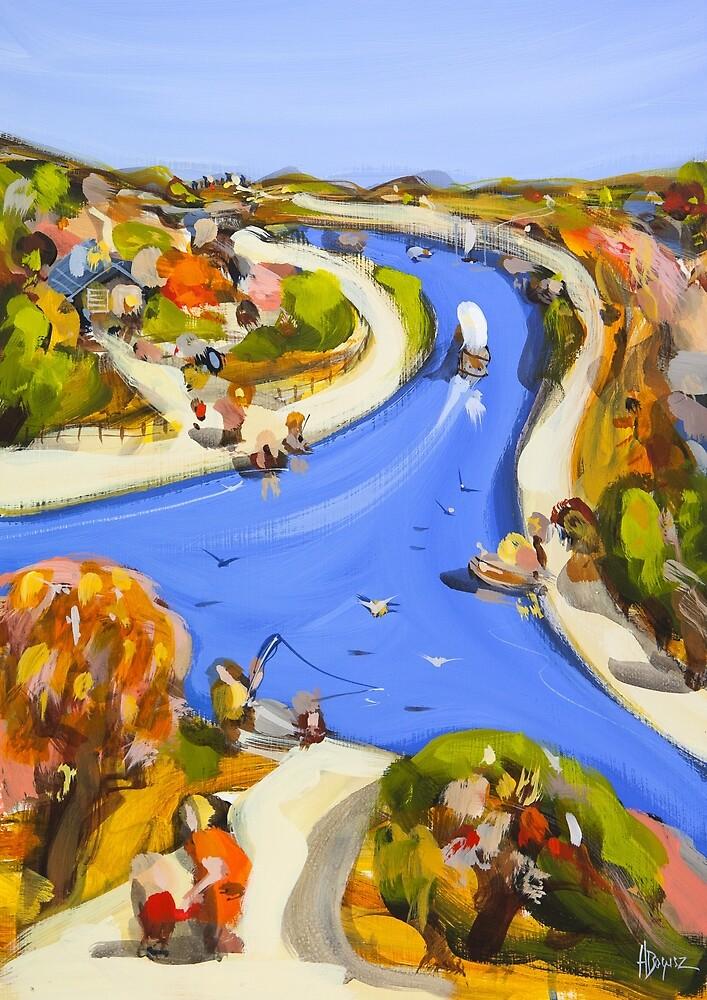 Summer Blue by Adam Bogusz