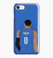 "Russell Westbrook ""MVP"" Case iPhone Case/Skin"