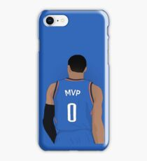 "Russell Westbrook ""MVP"" Case iPhone Case/Skin"