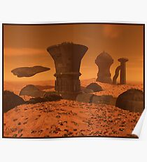 """Mars Colony 1 """"After the Storm"""" Poster"""