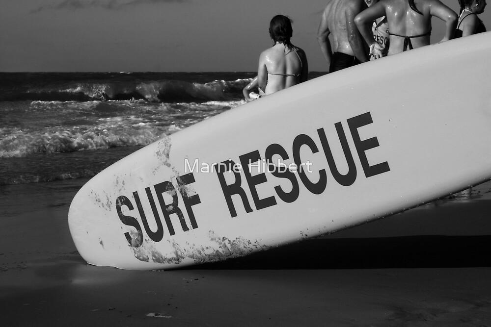 Surf Rescue by Marnie Hibbert