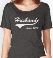 Husband Since 2015 Women's Relaxed Fit T-Shirt