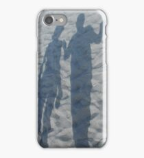 Shadows on sand iPhone Case/Skin