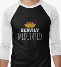 Heavily Meditated - Yoga Zen Lotus Flower T-Shirt