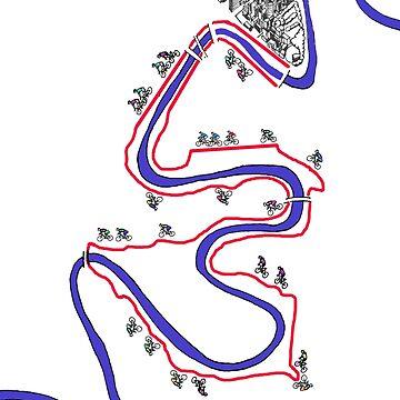 Brisbane Riverloop - MAP by jase72