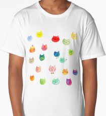 Cat confetti Long T-Shirt
