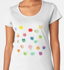Cat confetti Women's Premium T-Shirt