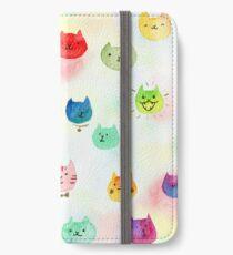 Cat confetti iPhone Wallet/Case/Skin