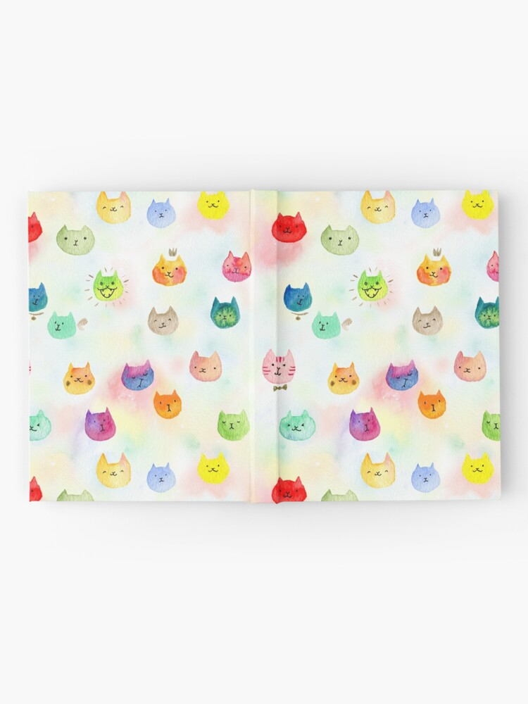 Alternate view of Cat confetti Hardcover Journal