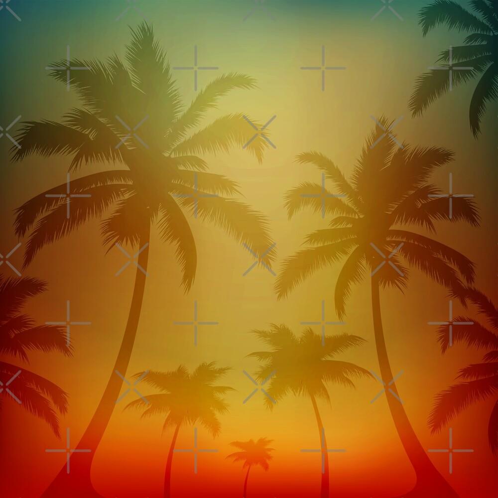Hawaiian Silhouette  by Makanahele