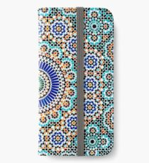 Persian Ceramic Design 55 iPhone Wallet