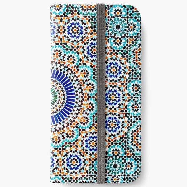 Persisches Keramikdesign 55 iPhone Flip-Case