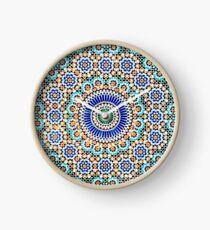 Persian Ceramic Design 55 Clock