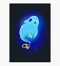 Guinea pig Ghost Photographic Print