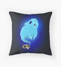 Guinea pig Ghost Throw Pillow