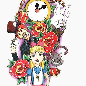 Alice in Wonderland by ColeC