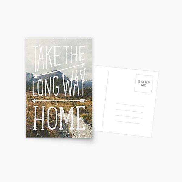 TAKE THE LONG WAY Postcard