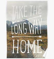 TAKE THE LONG WAY Poster