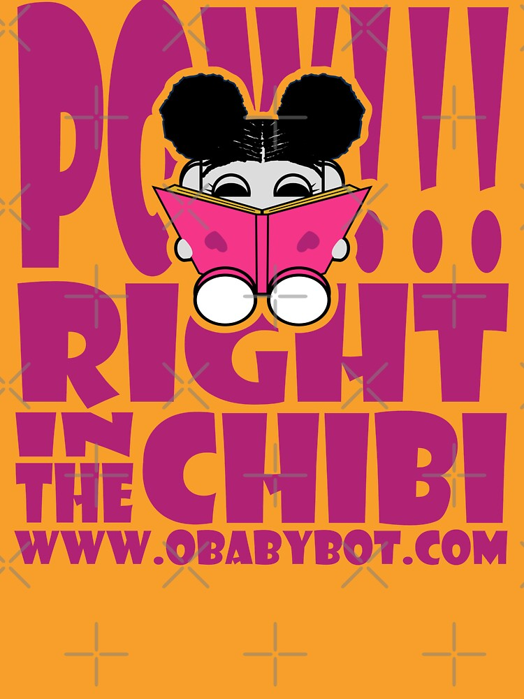 POW!!! Right in the Chibi: JoJo Loves to Read! O'BABYBOT Toy Robot 1.0 by carbonfibreme