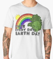 Make Every Day Earth Day Men's Premium T-Shirt