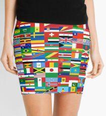 Flags of the World Mini Skirt