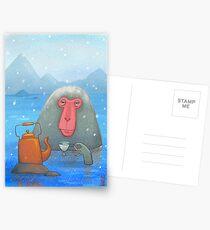 Heißer Tee Postkarten
