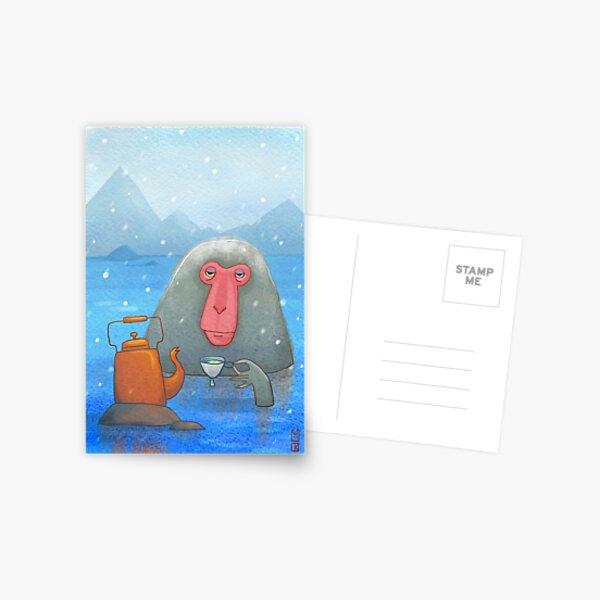 Hot tea Postcard
