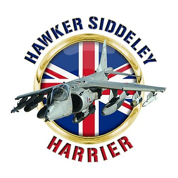 Hawker Siddeley Harrier by BasilBarfly