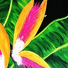 Bird of Paradise II by WhiteDove Studio kj gordon