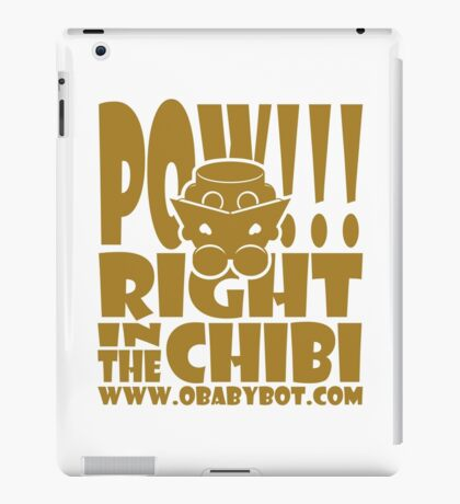 POW!!! Right in the Chibi: O'BOTs Love to Read! 1.0 iPad Case/Skin