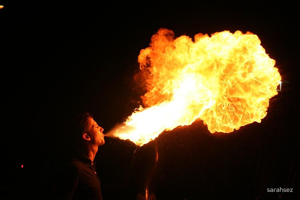fire breather by sarahsez