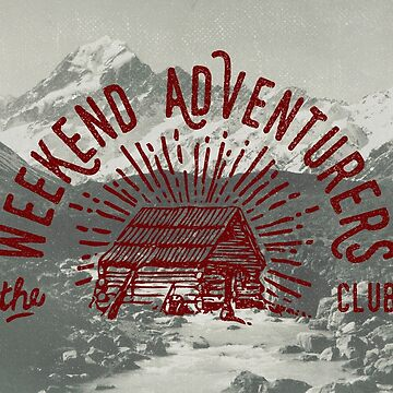 Weekend Adventurers Club de cabinsupplyco