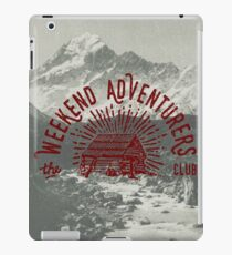 Weekend Adventurers Club iPad Case/Skin