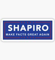 Ben Shapiro - Make Facts Great Again Sticker