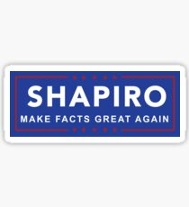 Ben Shapiro - Make Facts Great Again Sticker