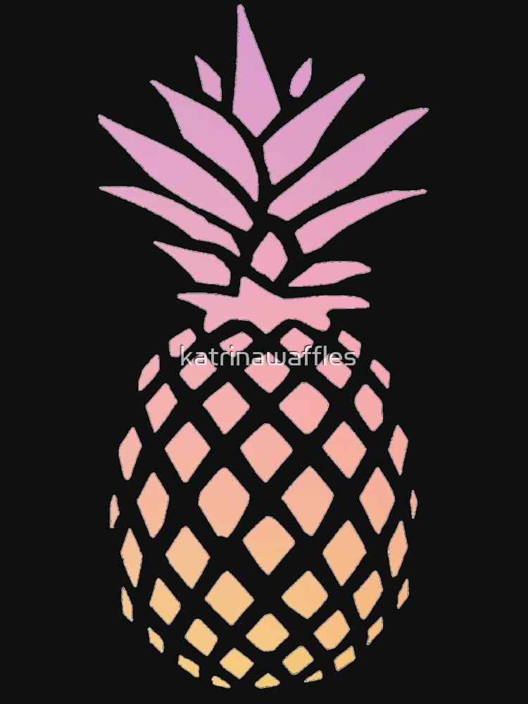Ananas-Sonnenuntergang von katrinawaffles