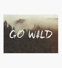 Go Wild Photographic Print