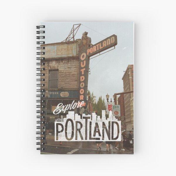 Explore Portland Spiral Notebook
