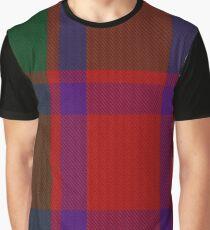 Caledonian Tartan  Graphic T-Shirt