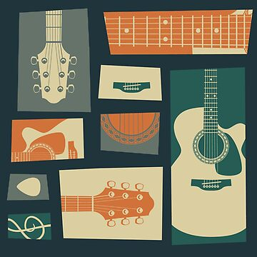 Guitar Collage by shizayats