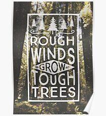 TOUGH TREES Poster