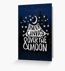 Under Canvas Greeting Card