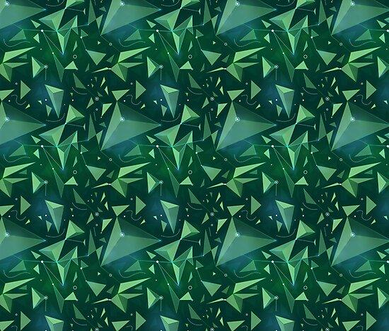 Green space map by shizayats